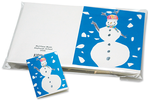 christmas cards school fundraising from kids card factory